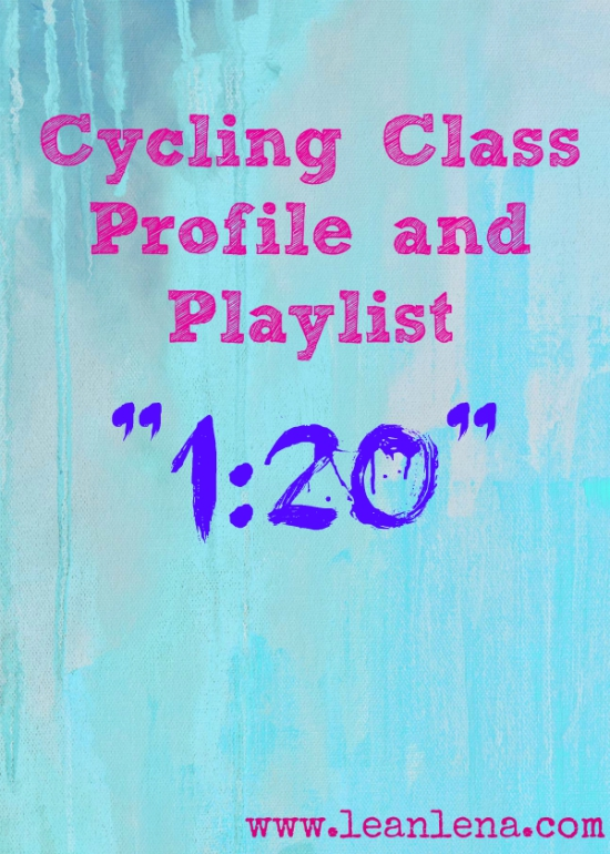 indoor cycling playlist and class profile