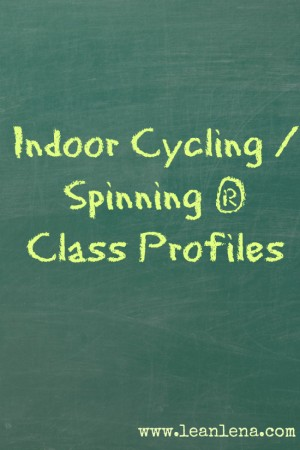 Indoor Cycling Class Profiles